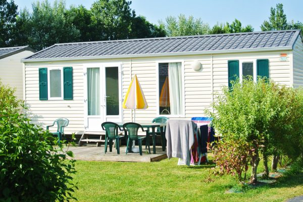 Camping Le Fanal : Ext Mobil Home Java