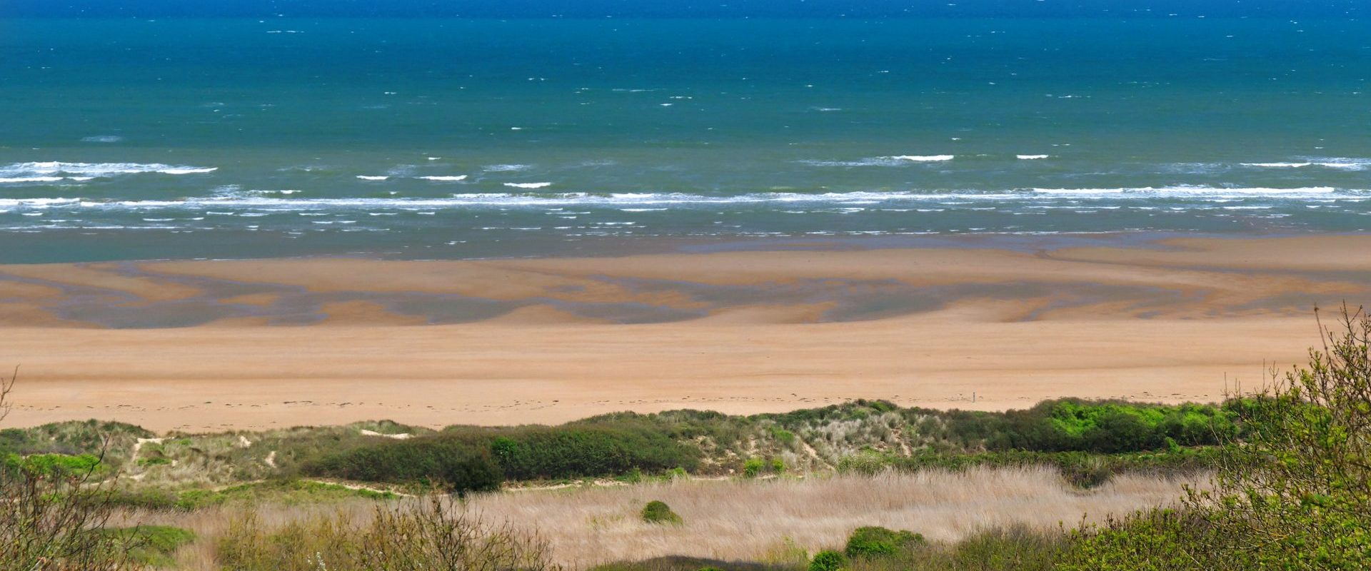 Camping Le Fanal : Omaha Beach Colleville Sur Mer 01