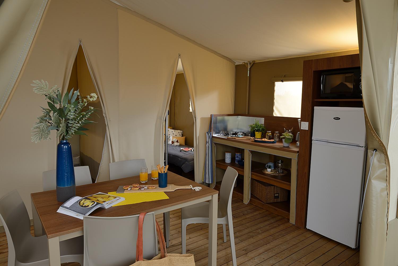 Camping Le Fanal : M 26 2 Salon Cuisine